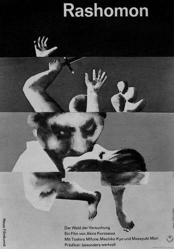 17_Hans Hillman's Poster for Kurosawa's Rashomon.jpg