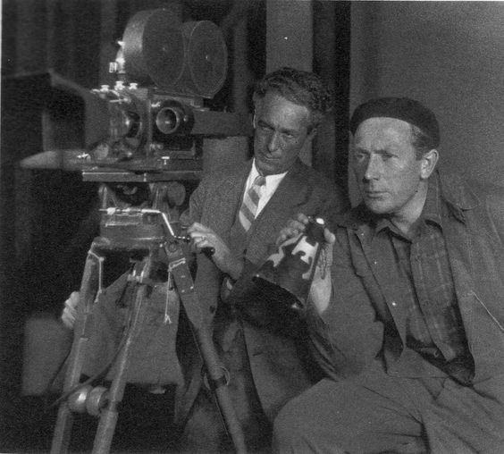 26_FW Murnau and Charles Rosher on the set of 'SUNRISE; A Song Of Two Humans'.jpg