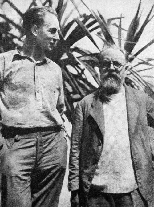 2_FW Murnau and Henri Matisse, Tahiti, 1930.jpg