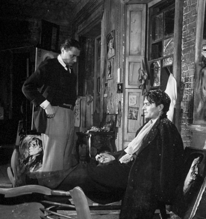6+James Mason and director Carol Reed on the set of 'Odd Man Out' (1947)..jpg