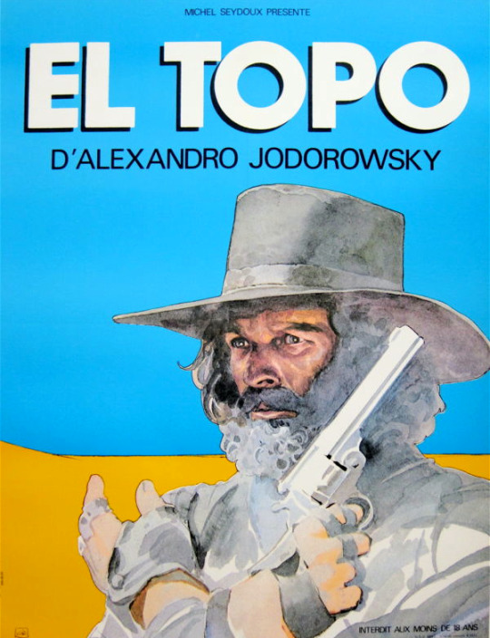14_El Topo (1970). French poster by Jean Giraud.jpg