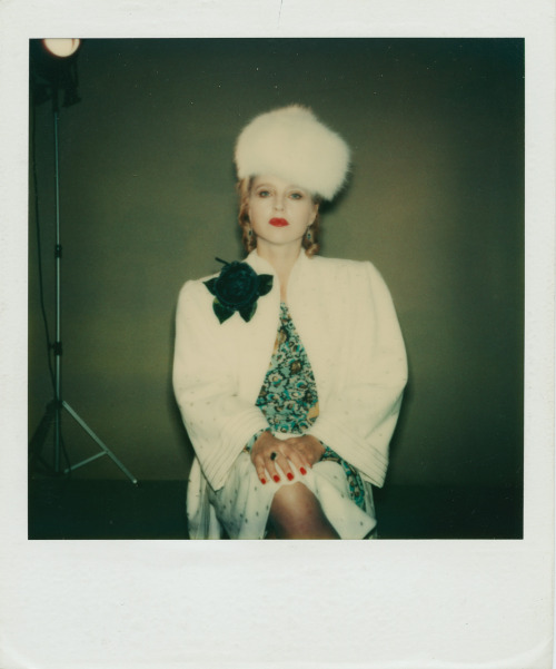 "28_Hanna Schygulla costume polaroid by Barbara Baum on the set of ""Lili Marleen"".jpg"