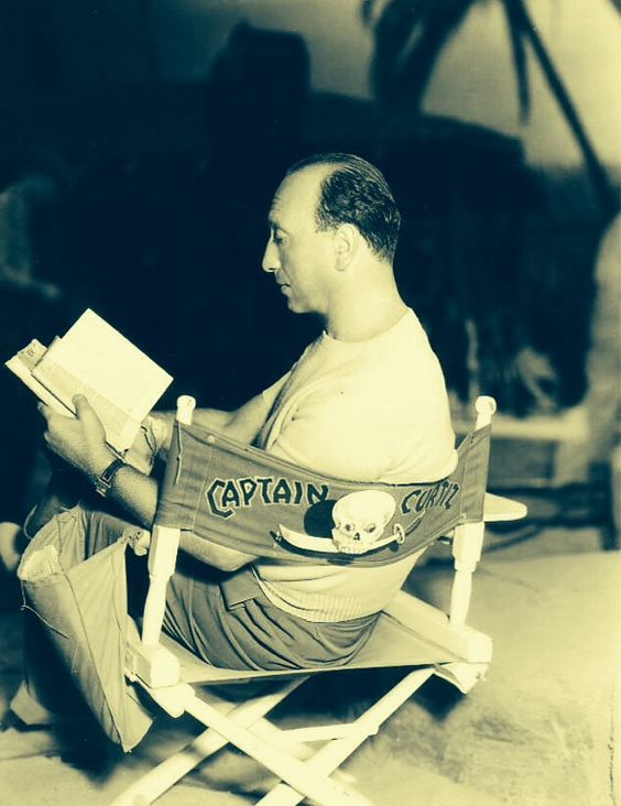 8_Michael Curtiz on set during 'Captain Blood' (1935).jpg