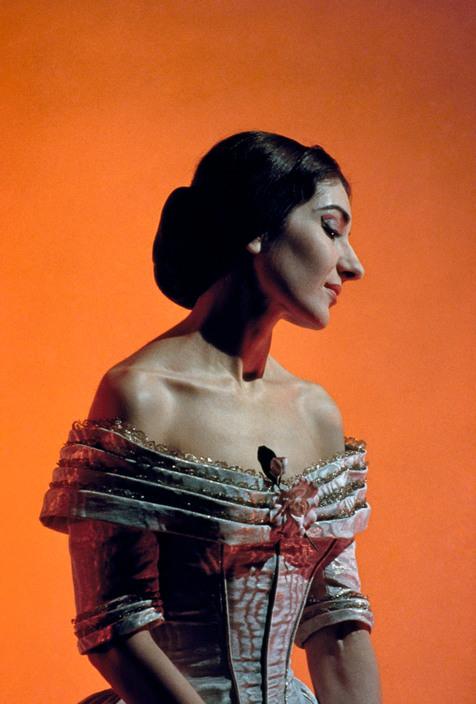 1955. Maria Callas.