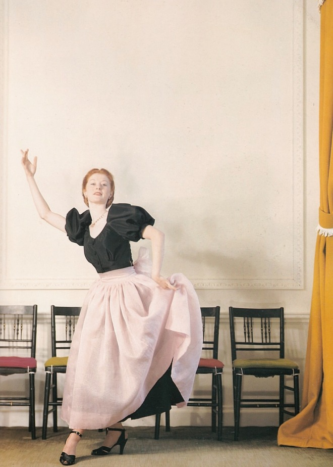 19_Moira Shearer of the Sadler's Wells Ballet in a photo by Cecil Beaton, 1947, a year before starring in The Red Shoes.jpg