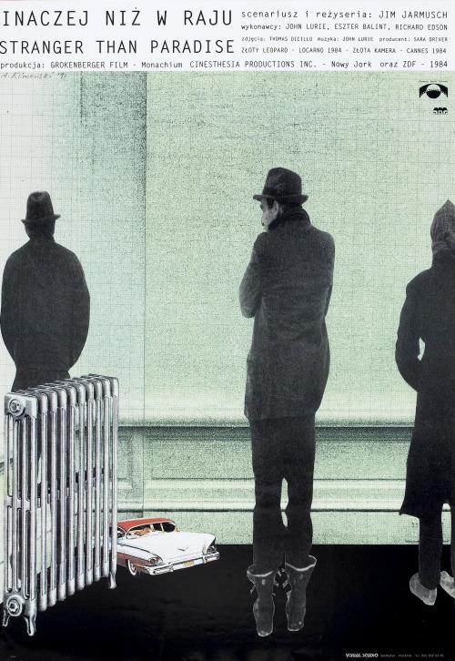 21_Jim Jarmusch_s Polish movie posters by Andrzej Klimowski-1