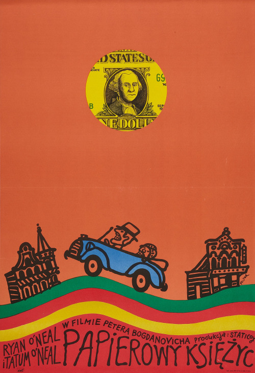 24_Polish Poster for Paper Moon (Peter Bogdanovich, 1973).jpg