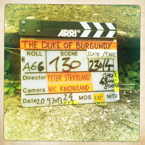 28_on set of Duke of Burgundy