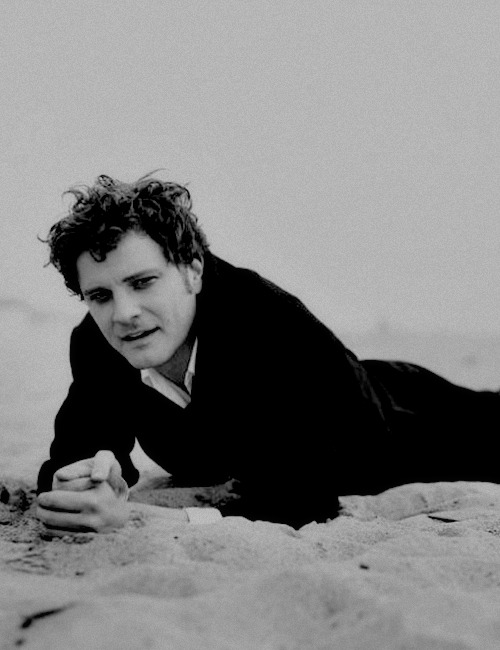 Colin Firth photography by Peter Lindbergh for Telegraph Magazine, January 1997 -1