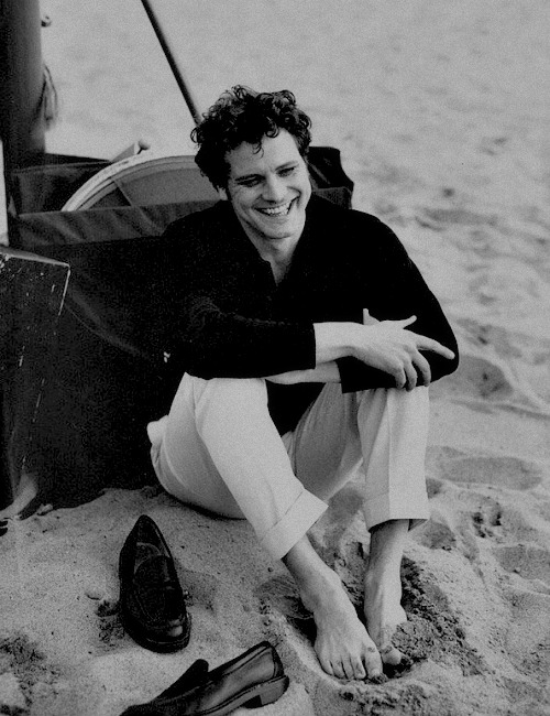 Colin Firth photography by Peter Lindbergh for Telegraph Magazine, January 1997 -3