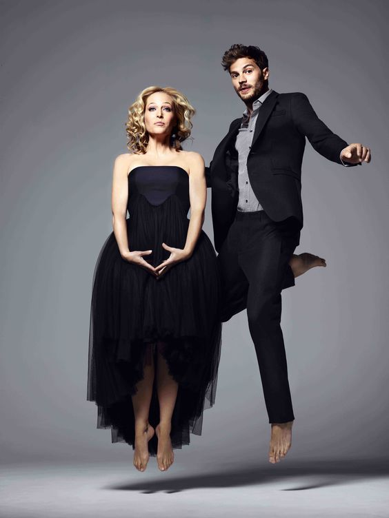 Gillian Anderson and Jamie Dornan, Red Magazine, July Issue. Shot by Jonty Davies.jpg