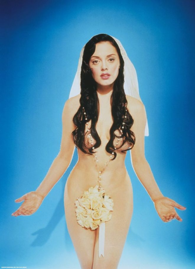 Rose McGowan photographed by David Lachapelle
