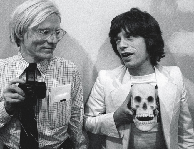 28_Andy Warhol, Mick Jagger Photographed by Roxanne Lowit.jpg