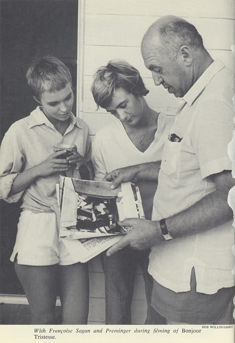 30_Jean Seberg, Françoise Sagan and Otto Preminger on the set of Bonjour Tristesse.jpg