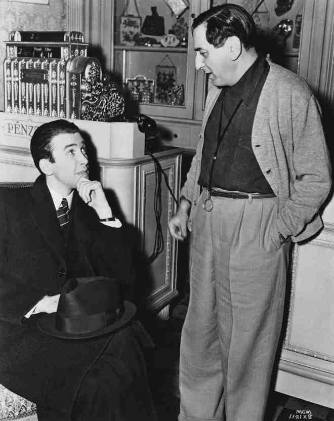 5_James Stewart and Director Ernst Lubitsch on the set of The Shop Around the Corner..jpg