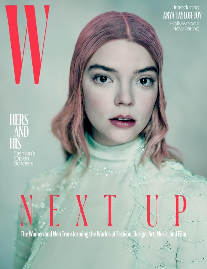 Anya Taylor-Joy on W Magazine April 2017 Cover.jpg