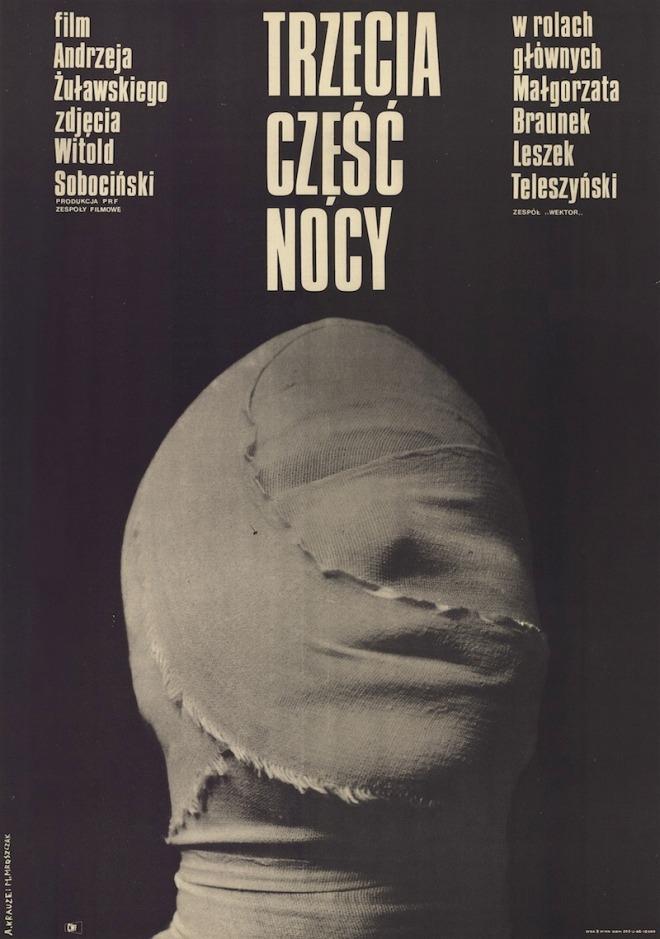 8_The Third Part of the Night, 1971, Andrzej Żuławski.Polish poster designed by Andrzej Krauze and Marcin Mroszczak.jpg