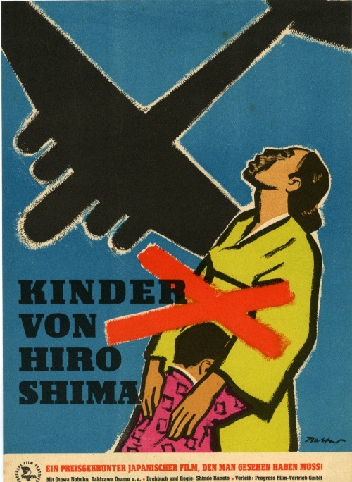 9_Children of Hiroshima (1952). East German poster by Siegfried Ebert..jpg