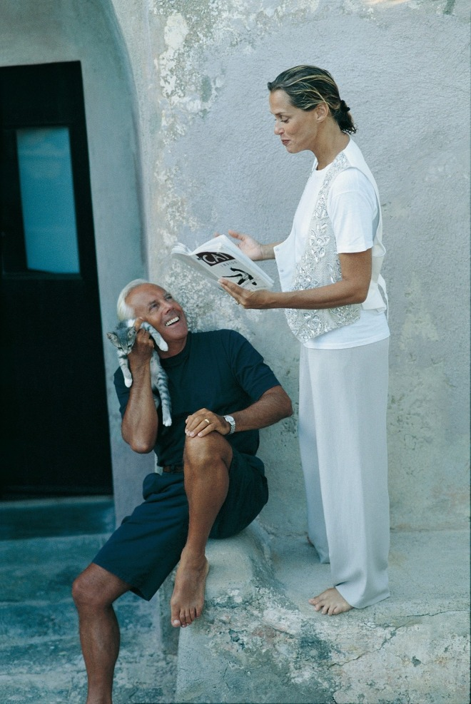 10_Giorgio Armani enjoying himself with Lauren Hutton at his holiday home in Pantelleria, Italy. Photo by Isabelle Snyder..jpg