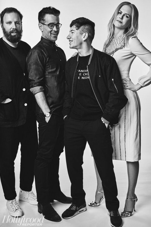 14_Yorgos Lanthimos, Colin Farrell, Barry Keoghan and Nicole Kidman for The Hollywood Reporter.jpg