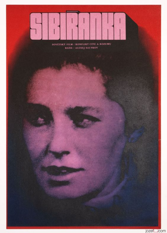 19_The Siberian Woman Poster art - Karel Vaca, 1972.jpg