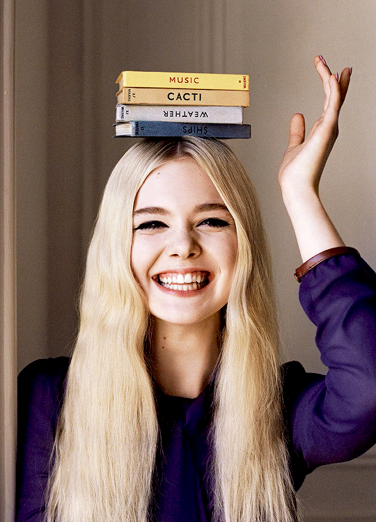 Elle Fanning photographed by Angelo Pennetta, 2014-2