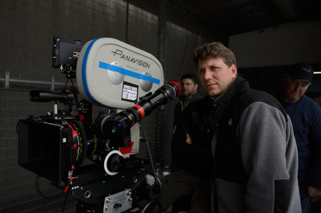 Jeff Nichols while filming Midnight Special (2016)-1