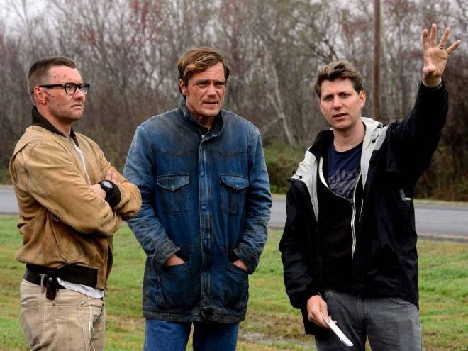 Jeff Nichols while filming Midnight Special (2016)-3