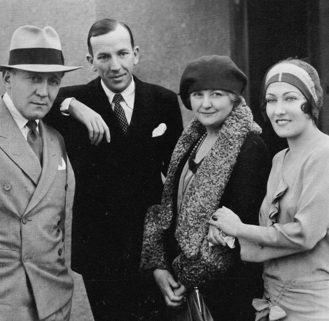 19_Edmund Goulding, Noel Coward, Laura Hope Crews, and Gloria Swanson c1930.jpg