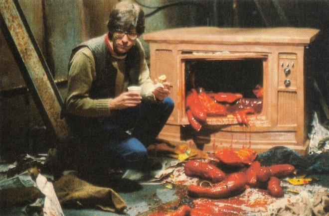 11_David Cronenberg, On the set of Videodrome.jpg