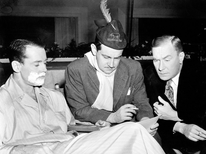 27_Preston Sturges  with Henry Fonda and William Demarest on the set of THE LADY EVE ('41).jpg