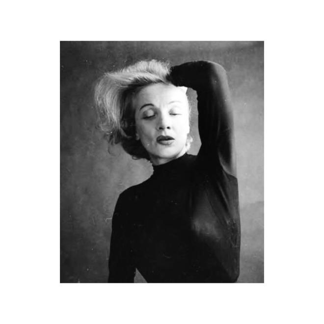 Marlene Dietrich by Milton H Greene,1952-3