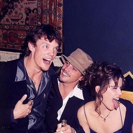 Matthew Lillard, Skeet Ulrich, and Neve Campbell photographed by Jeff Kravitz, 1996.-2.jpg