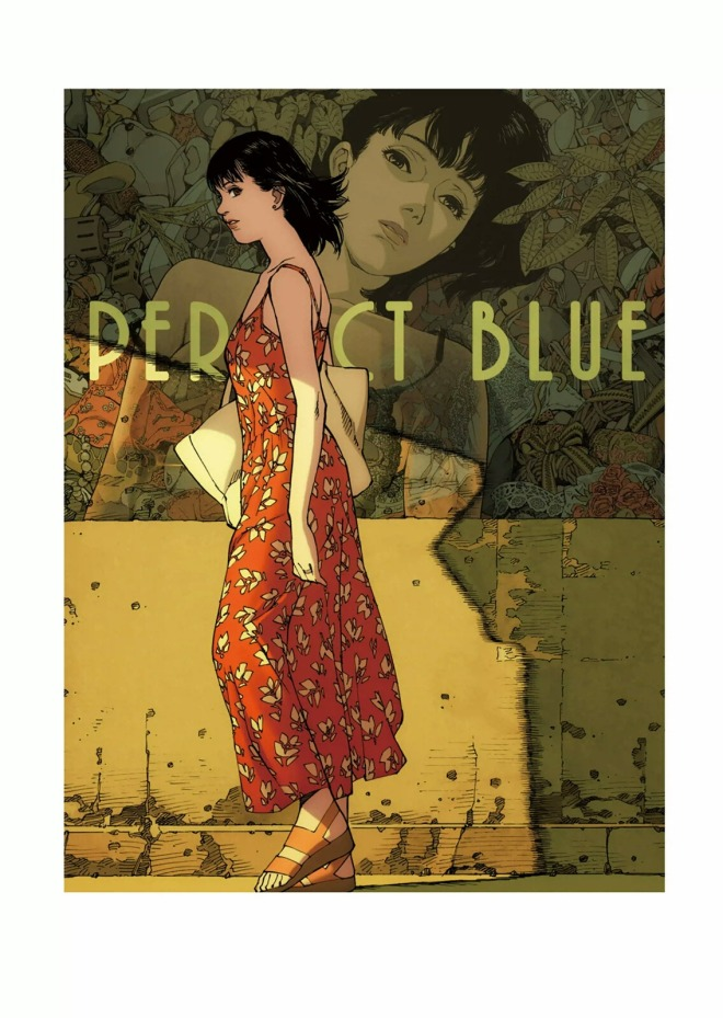 11_Rare promotional art work for the film Perfect Blue, illustrated by director Satoshi Kon,featured in the art book Kon_s Works 1982-2010