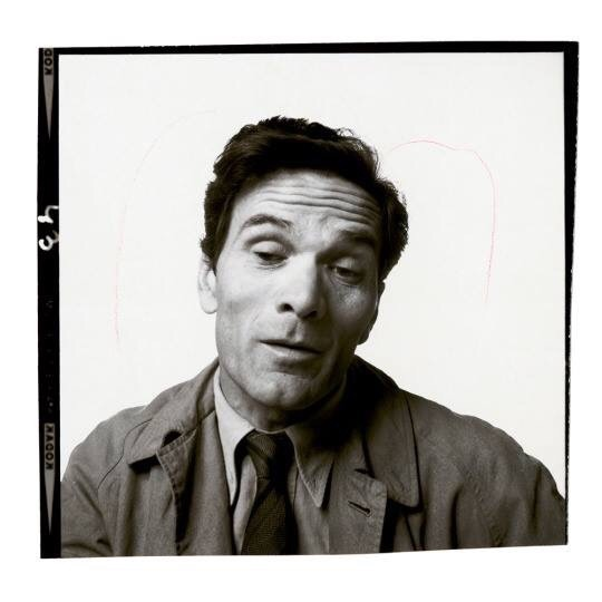 16_Pier Paolo Pasolini fotografato da Richard Avedon, 1966-1