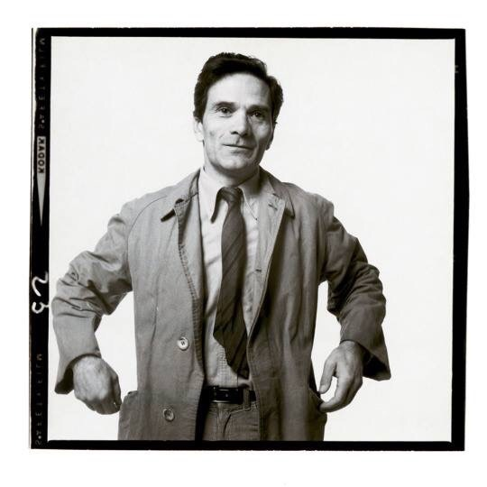 Pier Paolo Pasolini fotografato da Richard Avedon, 1966-2