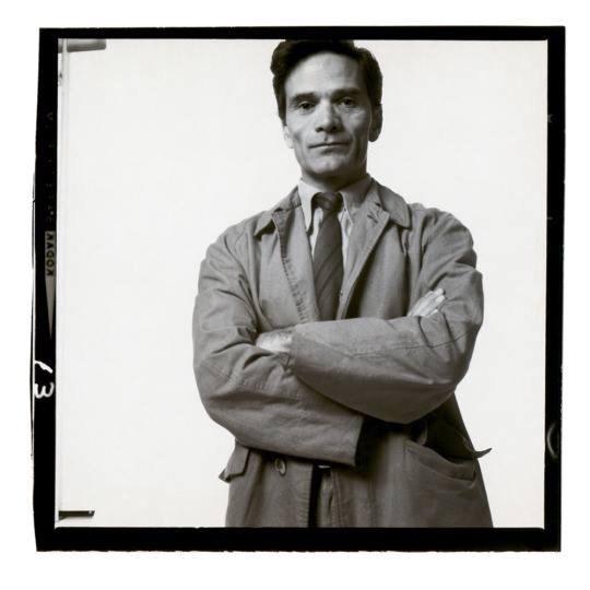 Pier Paolo Pasolini fotografato da Richard Avedon, 1966-3