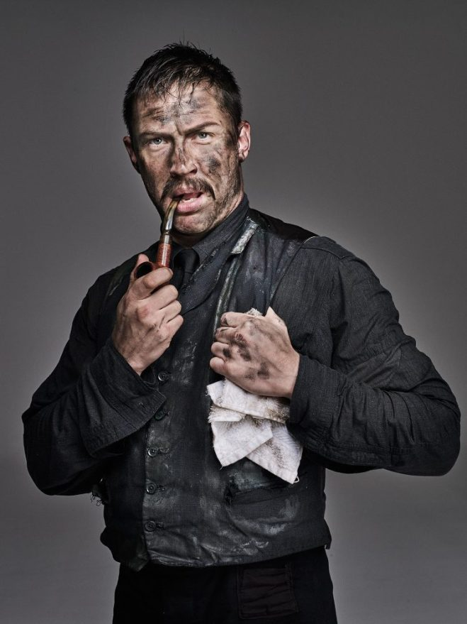 12_Tom Hardy in makeup as Daniel Day Lewis as Daniel Plainview in 'There Will Be Blood_, photographed by Chris Floyd-1