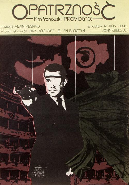 16_Polish poster design for Alain Resnais Providence, 1977 by Andrzej Klimowski.jpg