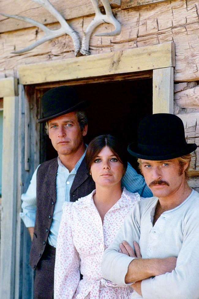 17_Paul Newman, Katharine Ross and Robert Redford for Butch Cassidy and Sundance Kid, 1968. Photograph by Douglas Kirkland.jpg