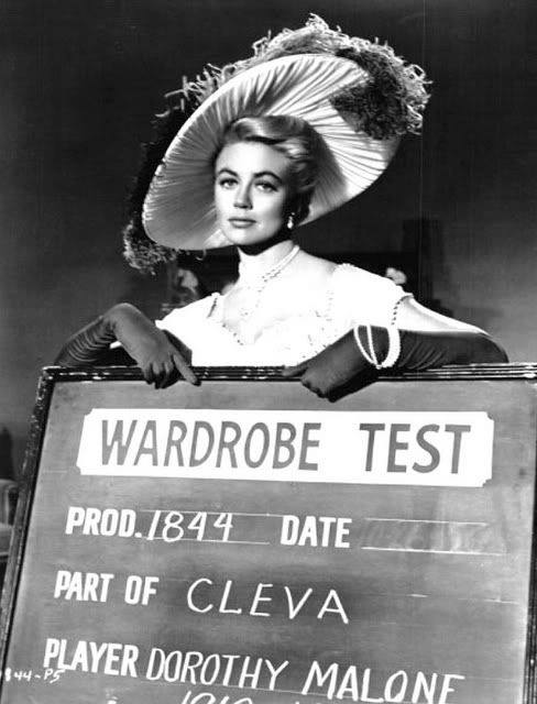 "1_Dorothy Malone - wardrobe test for ""Man of a Thousand Faces,"" 1957..jpg"