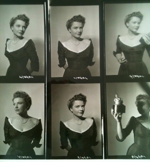 29_Proof sheets, Anne Baxter in All about Eve directed by Joseph L. Mankiewicz, 1950.jpg