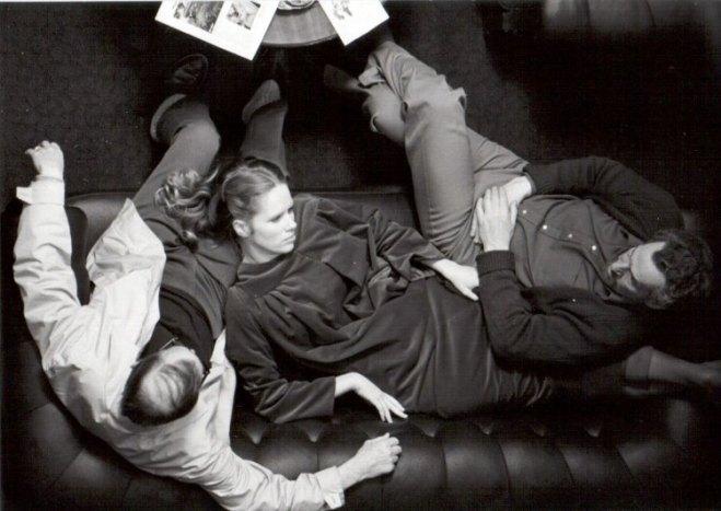 4_Ingmar Bergman, Liv Ullmann and Erland Josephson on the set of Face to face directed by Ingmar Bergman, 1976..jpg