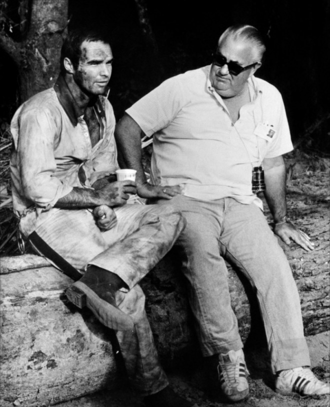 19_Burt Reynolds and director Robert Aldrich in The longest yard (1974)..jpg
