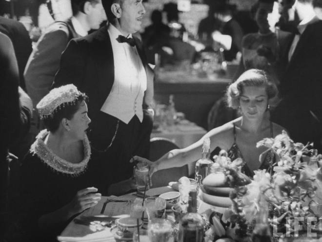 5_Judy Garland, Jack Warner, and Lauren Bacall at A Star is Born Premiere September 1954..jpg