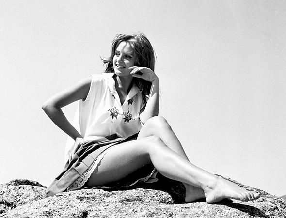 Soledad Miranda photographed by Gianni Ferrari, 1966-2