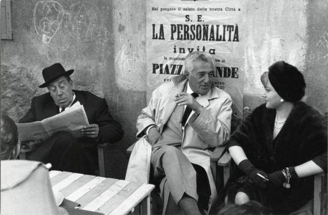 12_Fernandel and Vittorio de Sica on the set of Il Giudizio universale, photographed by Herbert List, 1961..jpg