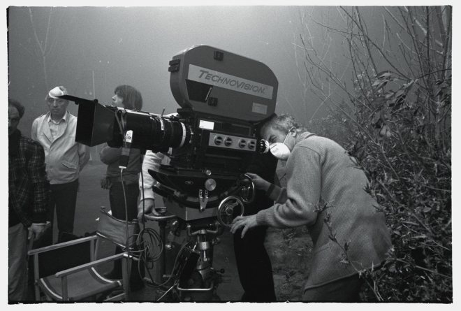 19_Antonioni behind the scenes of Identification of a Woman (1982)..jpg