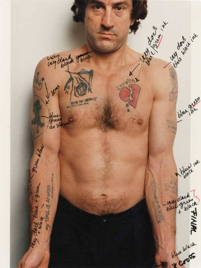21_Martin Scorsese's notes on Robert De Niro's tattoos in Cape Fear..jpg