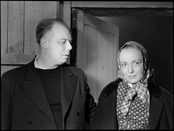 25_Jean Renoir and Dita Parlo on the set of La Grande Illusion, photographed by Sam Lévin, 1939..jpg